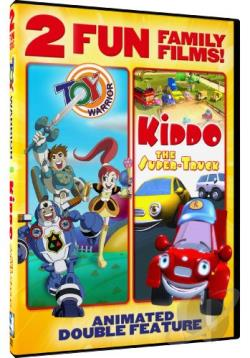 Toy Warrior/Kiddo: The Super Truck DVD Cover Art