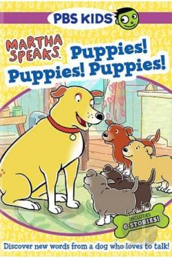 Martha Speaks: Puppies! Puppies! Puppies! DVD Cover Art