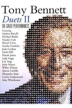 Tony Bennett: Duets II - The Great Performances DVD Cover Art