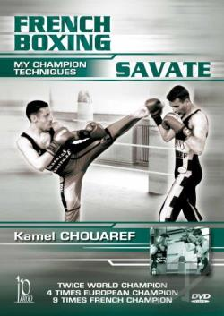 French Boxing: Savate - My Champion Techniques DVD Cover Art