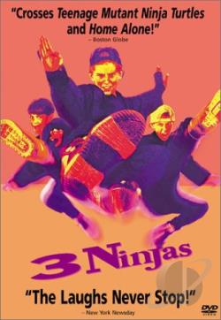 3 Ninjas DVD Cover Art