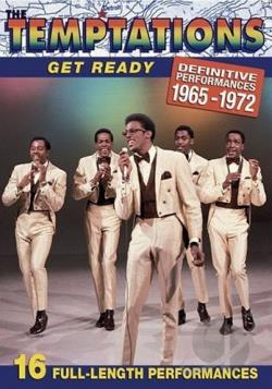 Temptations - Get Ready: Definitive Performances 1965-1972 DVD Cover Art