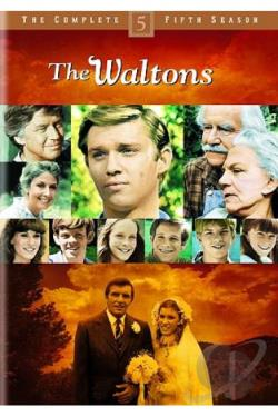 Waltons - The Complete Fifth Season DVD Cover Art