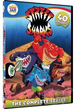 Street Sharks - The Complete Series DVD Cover Art