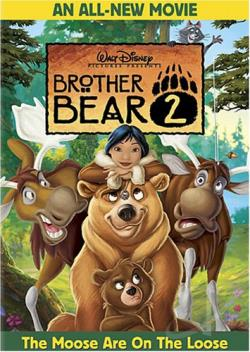 Brother Bear 2 DVD Cover Art