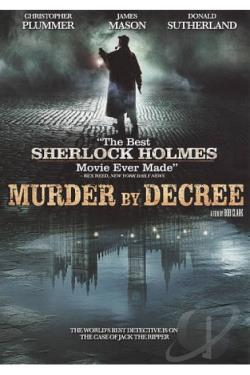 Murder by Decree DVD Cover Art