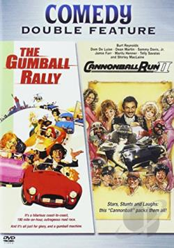 Gumball Rally/The Cannonball Run II DVD Cover Art