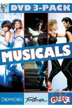 Dreamgirls/Footloose DVD Cover Art