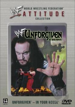 WWF - Unforgiven 1998 DVD Cover Art