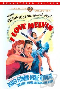 I Love Melvin DVD Cover Art