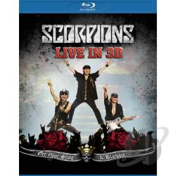 Scorpions: Live in 3D - Get Your Sting & Blackout BRAY Cover Art