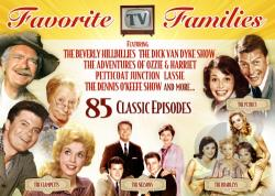 Favorite TV Families-The Clampetts The Nelsons DVD Cover Art