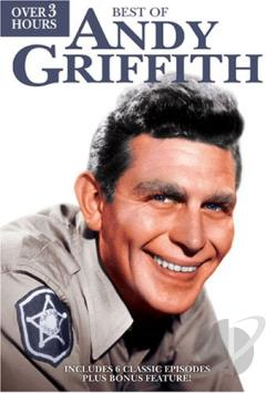 Best Of Andy Griffith DVD Cover Art