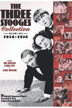 Three Stooges Collection - Vol. 1: 1934 - 1936 DVD Cover Art