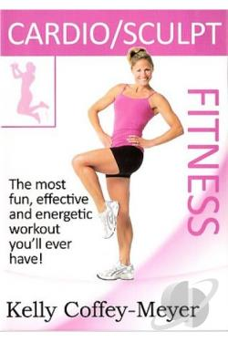 Cardio Sculpt Fitness with Kelly Coffey-Meyer DVD Cover Art