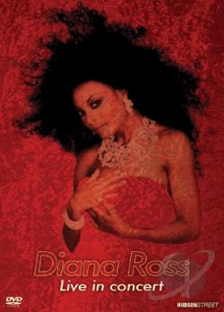 Diana Ross: Live In Concert DVD Cover Art