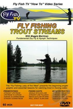 Fly Fishing Trout Streams DVD Cover Art