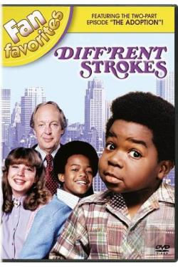 Diff'rent Strokes: Fan Favorites DVD Cover Art