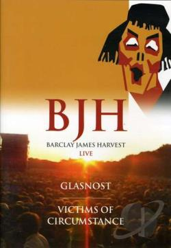 Barclay James Harvest: Glasnost & Victims of Circumstance DVD Cover Art
