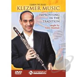 Learn to Play Klezmer Music DVD Cover Art