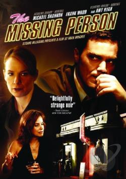 Missing Person DVD Cover Art