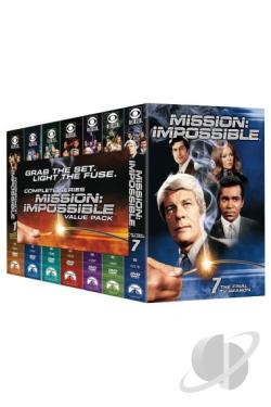 Mission - Impossible - Complete Series DVD Cover Art