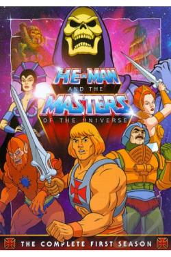 He-Man and the Masters of the Universe - The Complete First Season DVD Cover Art
