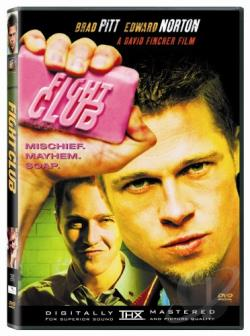 Fight Club DVD Cover Art