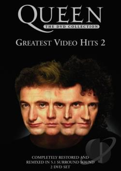Queen - Greatest Video Hits 2 DVD Cover Art