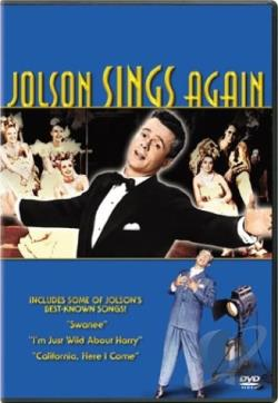 Jolson Sings Again DVD Cover Art