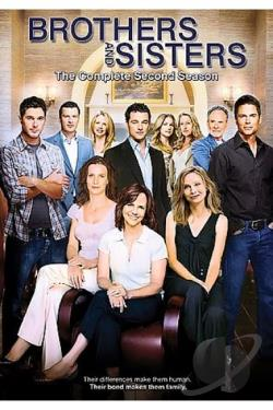 Brothers & Sisters - The Complete Second Season DVD Cover Art