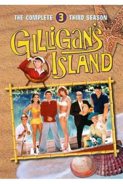 Gilligan's Island - The Complete Third Season DVD Cover Art