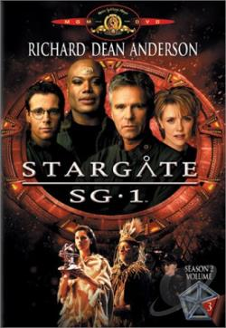 Stargate SG-1 - Season 2: Volume 3 DVD Cover Art
