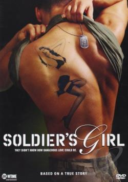 Soldier's Girl DVD Cover Art