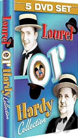 Laurel Or Hardy Collection DVD Cover Art