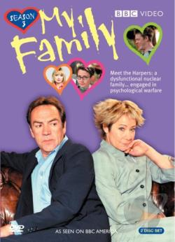 My Family: Season 3 DVD Cover Art