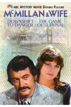 McMillan & Wife: Downshift to Danger/The Game of Survival DVD Cover Art