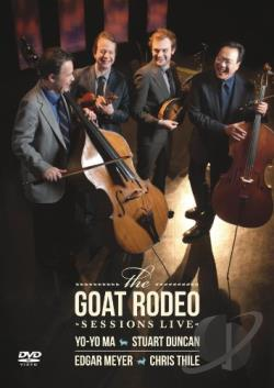 Goat Rodeo Sessions Live DVD Cover Art