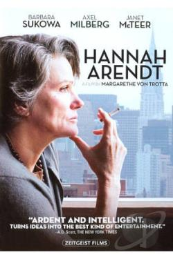 Hannah Arendt DVD Cover Art