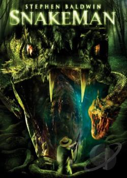 Snakeman DVD Cover Art