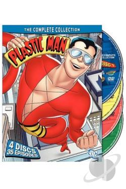 Plastic Man - The Complete Collection DVD Cover Art