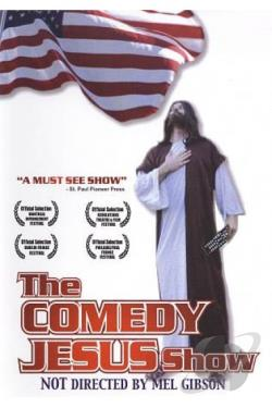 Comedy Jesus Show DVD Cover Art