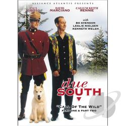 Due South - Call of the Wild Part 1 and 2 DVD Cover Art