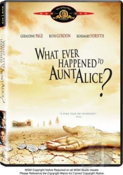 What Ever Happened To Aunt Alice? DVD Cover Art