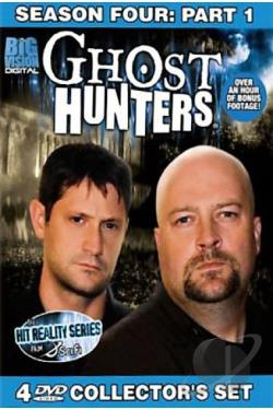 Ghost Hunters - Fourth Season: Part 1 DVD Cover Art