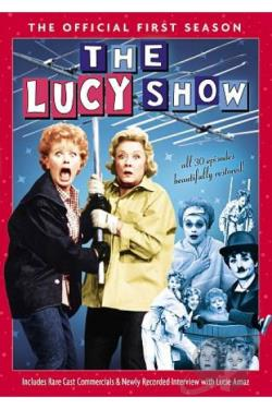 Lucy Show - The Official First Season DVD Cover Art