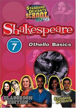 Standard Deviants - Shakespeare Module 7: Othello Basics DVD Cover Art