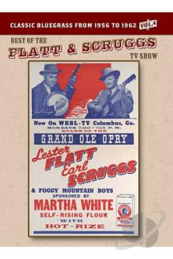 Flatt & Scruggs TV Show - Vol. 4 DVD Cover Art