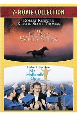 Horse Whisperer/Mr. Holland's Opus DVD Cover Art