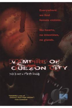 Vampire of Quezon City DVD Cover Art